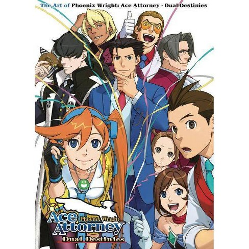 The Art Of Phoenix Wright Ace Attorney Dual Destinies By Capcom Paperback Target