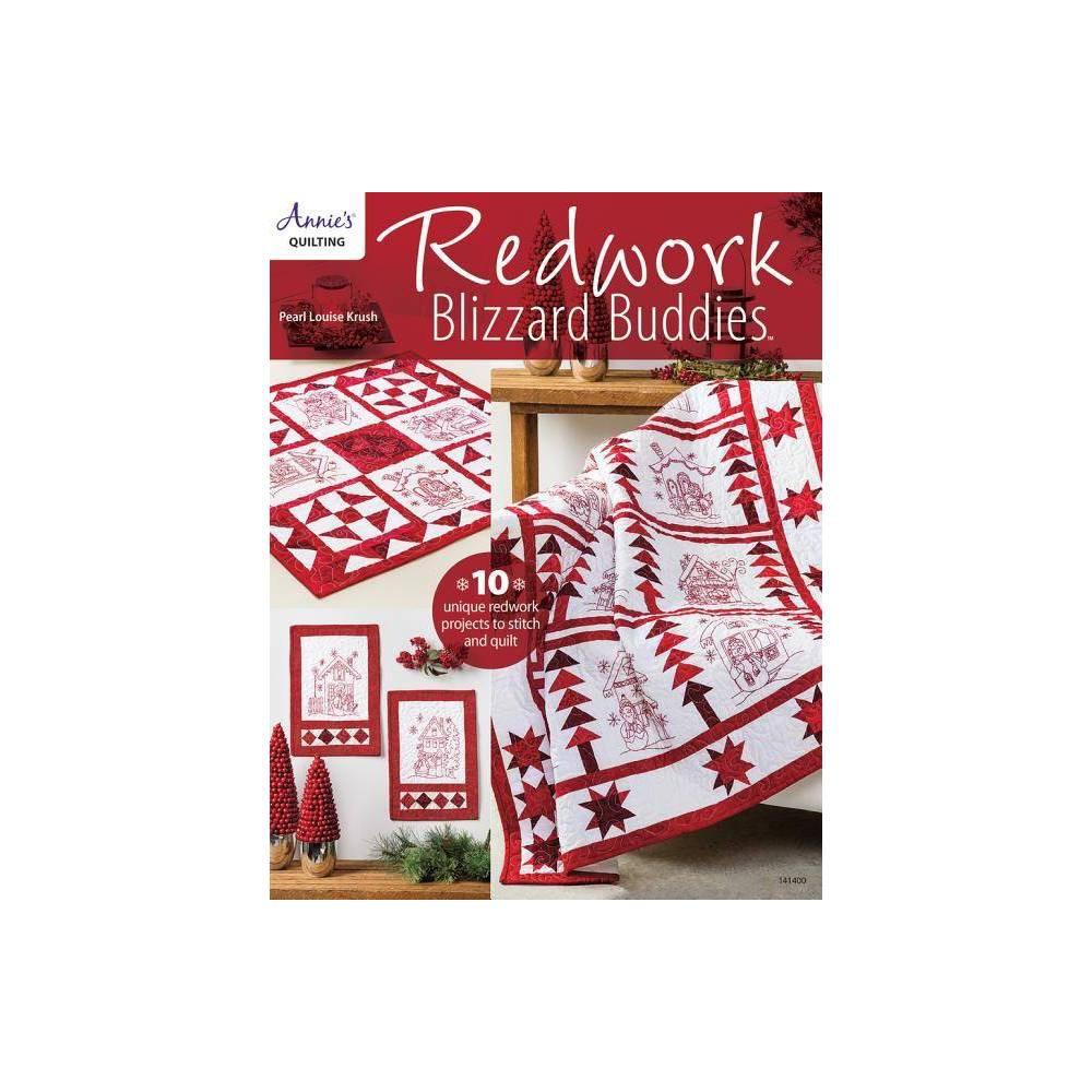 Redwork Blizzard Buddies By Pearl Louis Krush Paperback