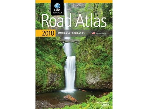 Rand McNally Road Atlas 2018 : United States, Canada and Mexico (Paperback) - image 1 of 1