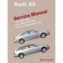 Audi A6 (C5) Service Manual: 1998, 1999, 2000, 2001, 2002, 2003, 2004 - by  Bentley Publishers