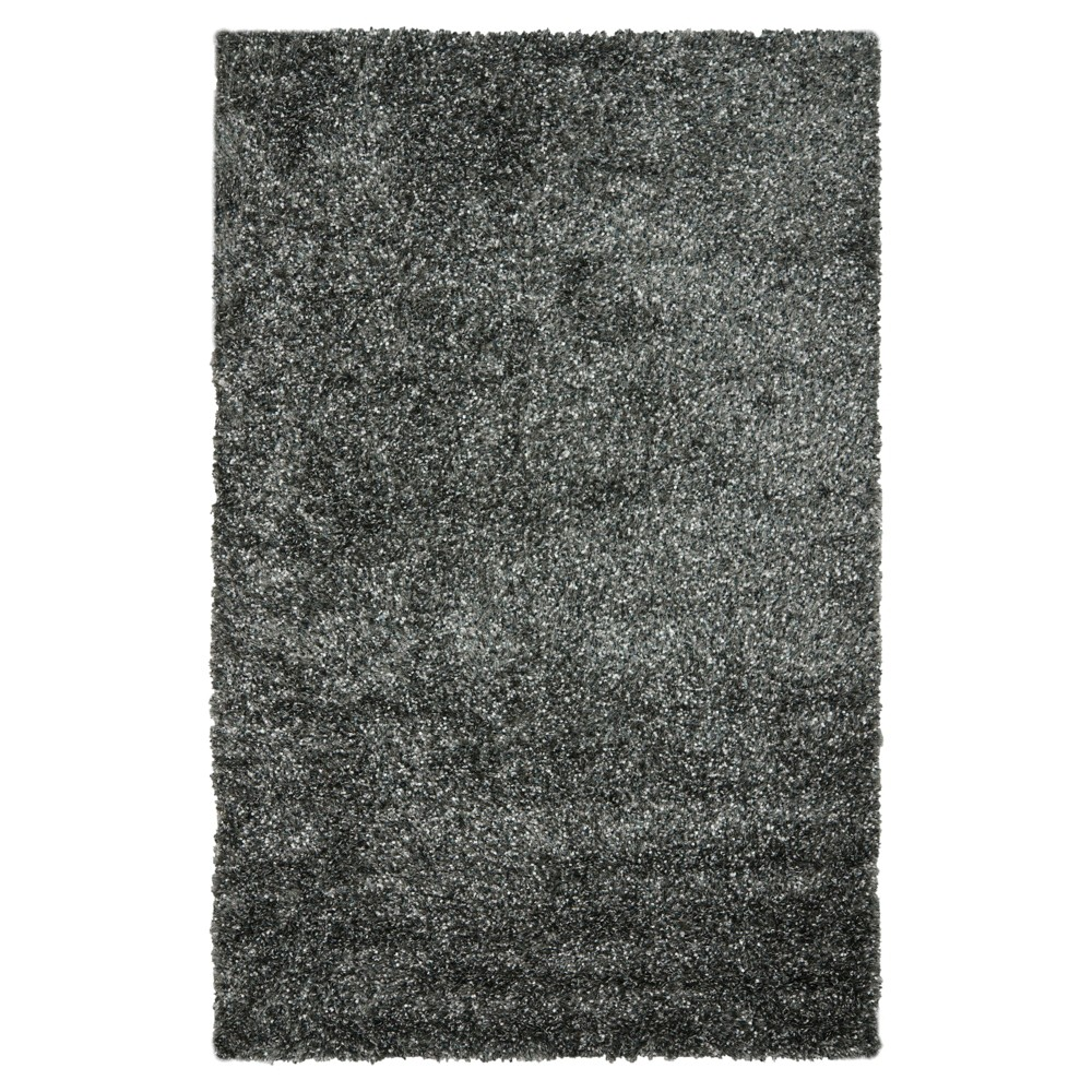 Charcoal (Grey) Solid Tufted Area Rug - (8'6X12') - Safavieh