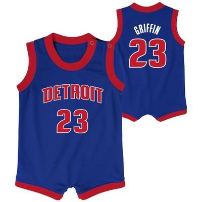 NBA Detroit Pistons Baby Boys' Onesies
