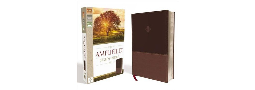 Amplified Study Bible : Brown Leathersoft (Paperback) (Zo...