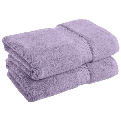 Plush and Absorbent Cotton Oversized 2-Piece Bath Towel Set - Blue Nile Mills