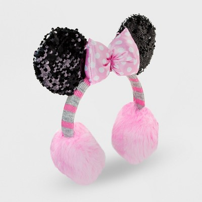 957543f2078 Girls Minnie Mouse Earmuffs – Pink One Size – Target Inventory ...