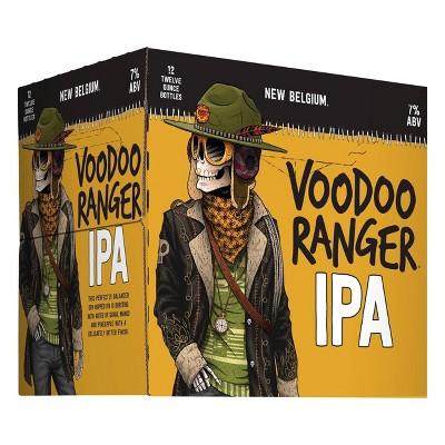 New Belgium Voodoo Ranger IPA Beer - 12pk/12 fl oz Bottles