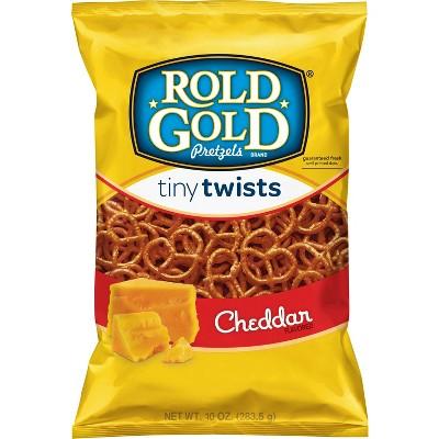 Rold Gold Cheddar Flavored Tiny Twists Pretzels - 10.0oz