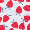 Baby Girls' Strawberry Print Long Sleeve Rash Guard Set - Just One You® made by carter's Red/Blue - image 3 of 3