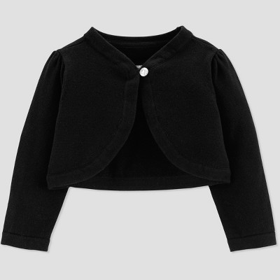 Baby Girls' Dressy Cardigan - Just One You® made by carter's Black 6M