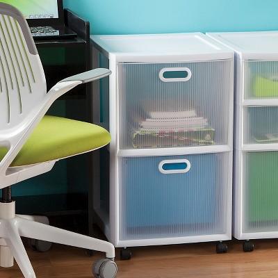Sterilite® Ultra™ 2 Drawer Storage Cart White : Target