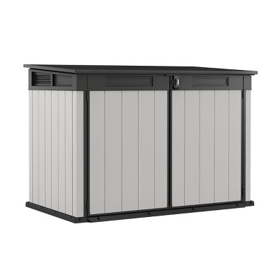 Premier Jumbo Outdoor Storage Shed Gray - Keter