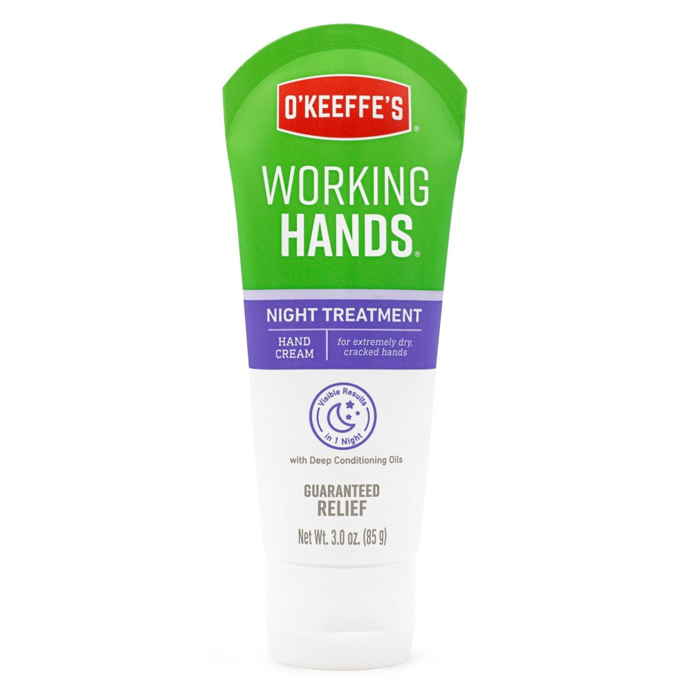 Image of O'Keeffe's Working Hands Night Treatment - 3oz