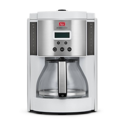 Melitta Aroma Enhance Coffee Maker Glass Carafe 10-cup