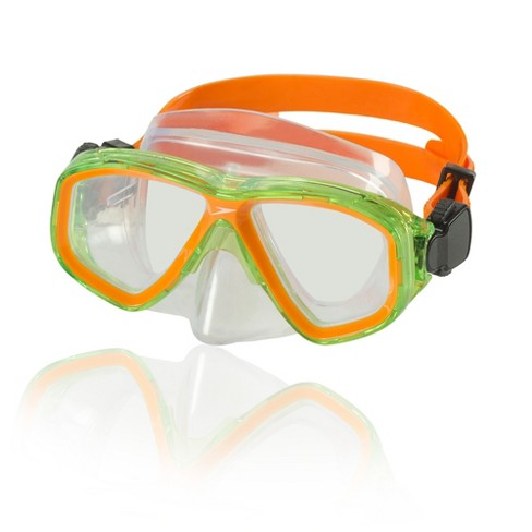 Speedo Kids Surf Gazer Mask - Orange - image 1 of 1