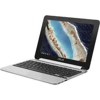 "Asus Chromebook Flip C101PA-DS04 10.1"" Touchscreen 2 in 1 Chromebook - 1280 x 600 - OP1 - 4 GB RAM - 32 GB Flash Memory - Chrome OS"