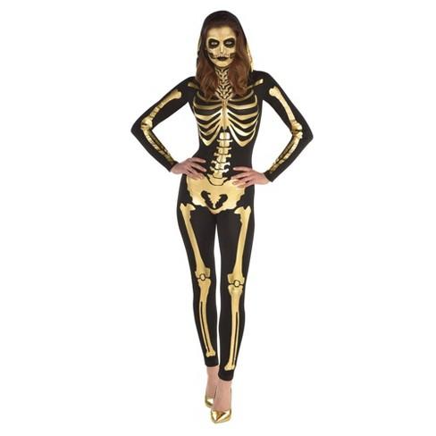 Women's 24 Carat Bones Halloween Costume  - image 1 of 1