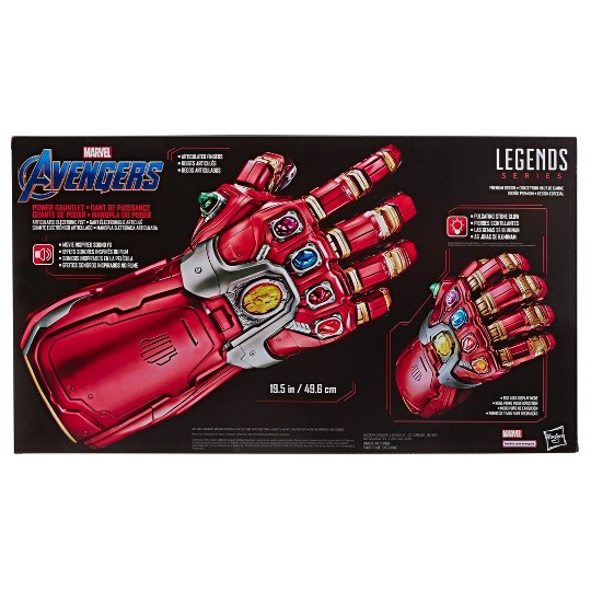 Marvel Legends Series Avengers: Endgame Power Gauntlet Articulated Electronic Fist image number null
