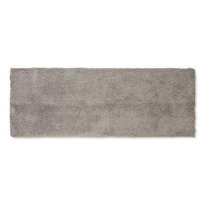 60 x22  Tufted Spa Bath Runner Gray - Fieldcrest®