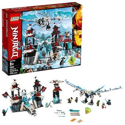 LEGO Ninjago Castle of the Forsaken Emperor Toy Castle Ninja Minifigures Building Set 70678