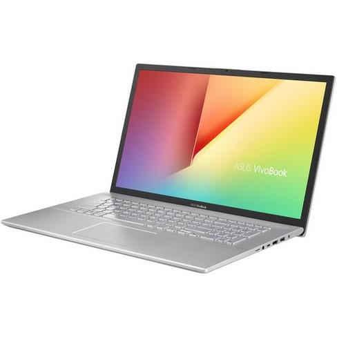 "Asus VivoBook 17 F712FA-DB51 17.3"" Notebook - 1600 x 900 - Core i5 i5-8265U - 8 GB RAM - 1 TB HDD - 128 GB SSD - Transparent Silver - image 1 of 4"