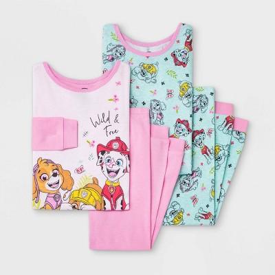 Toddler Girls' 4pc PAW Patrol Pajama Set - Pink