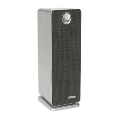 """Germ Guardian Air Purifier with True HEPA Filter, 4-in-1 AC4900CA 22"""" Tower Gray"""