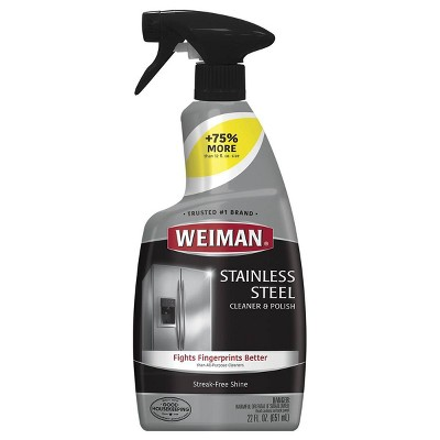 Weiman Stainless Steel Cleaner and Polish Trigger - 22 fl oz