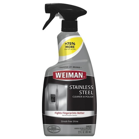 Weiman Stainless Steel Cleaner and Polish Trigger - 22 fl oz - image 1 of 4