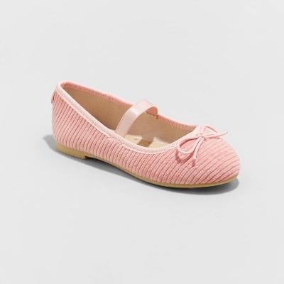 Toddler Girls' Necole Ballet Flats - Cat & Jack™ Pink