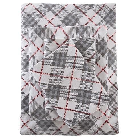 Flannel Print Sheet Sets - image 1 of 4