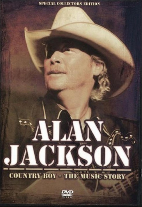 Alan jackson:Country boy music story (DVD) - image 1 of 1