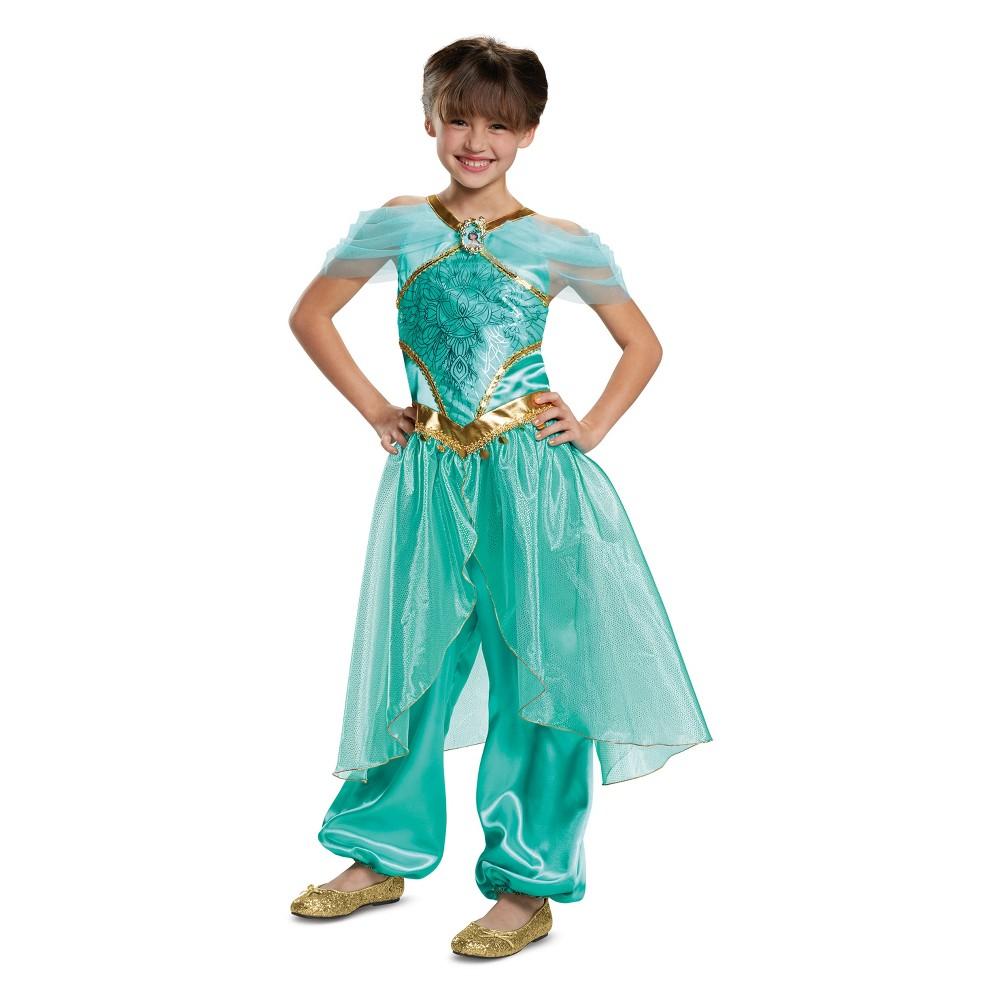Toddler Girls' Disney Princess Jasmine Deluxe Halloween Costume 3T-4T