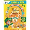 General Mills Lucky Charms Honey Clover Cereal Family Size - 19.7oz - image 2 of 3
