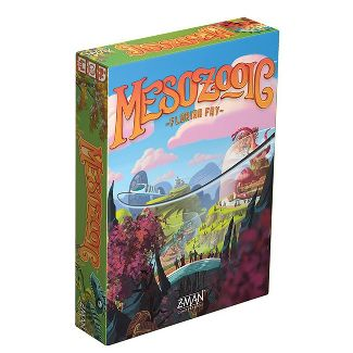 Z-Man Games Mesozoic Board Game