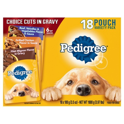 Pedigree Dog Food Grilled Chicken And Vegetables