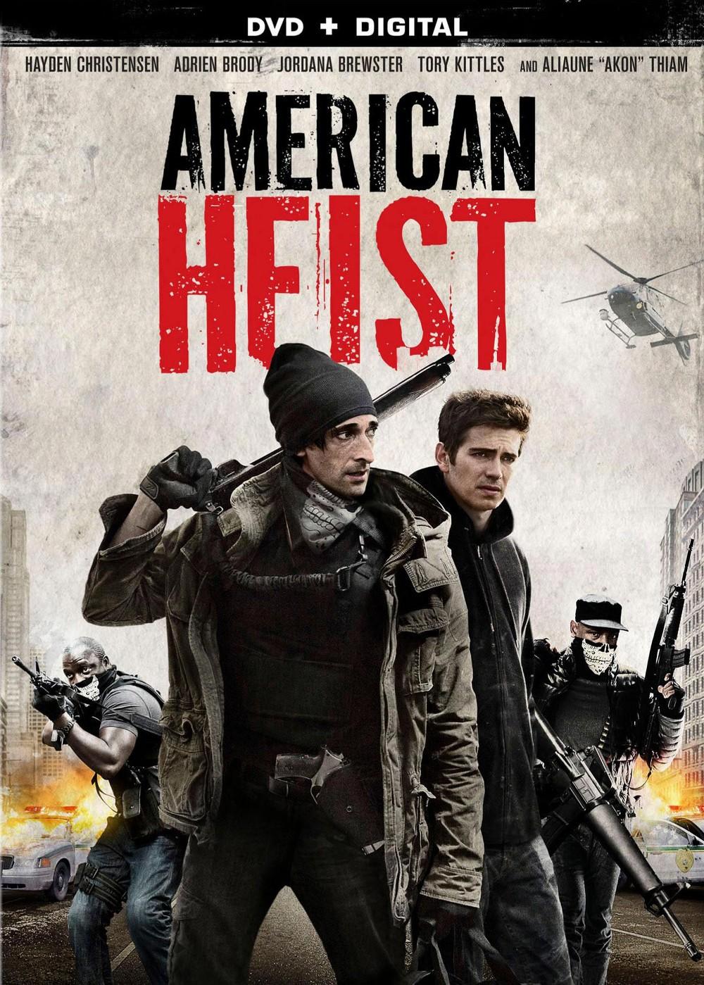 Lions Gate American Heist (dvd_video)