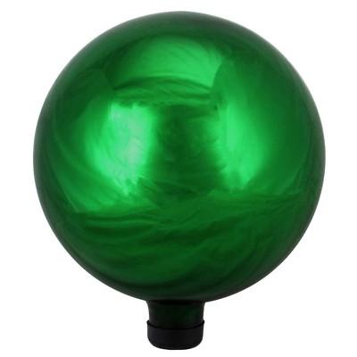 "Northlight 10"" Emerald Green Shiny Outdoor Garden Gazing Ball"
