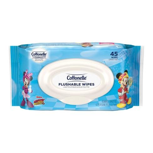 Cottonelle Kids Flushable Toilet Paper - 45ct - image 1 of 5