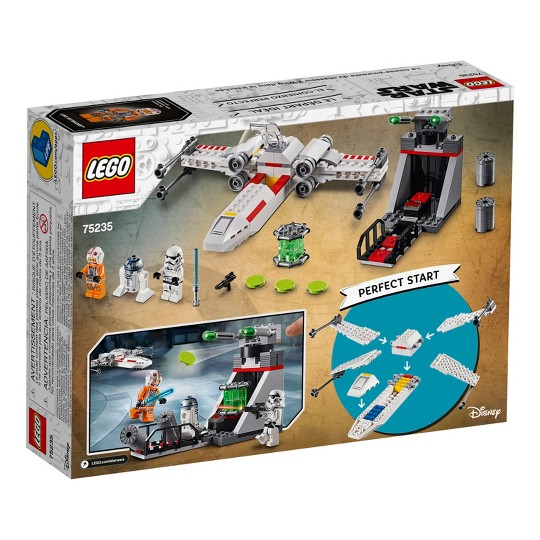 LEGO Star Wars X-Wing Starfighter Trench Run 75235 image number null