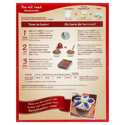 betty crocker spice cake mix 15 25oz target
