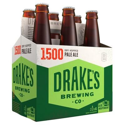 Drake's 1500 Pale Ale Beer - 6pk/12 fl oz Bottles