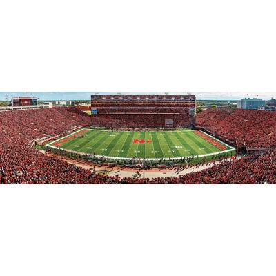 NCAA Nebraska Cornhuskers 1000pc Panoramic Puzzle