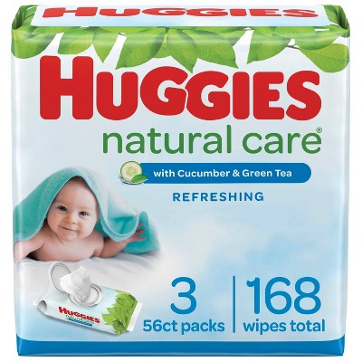 Huggies Natural Care Refreshing Scented Baby Wipes (Select Count)