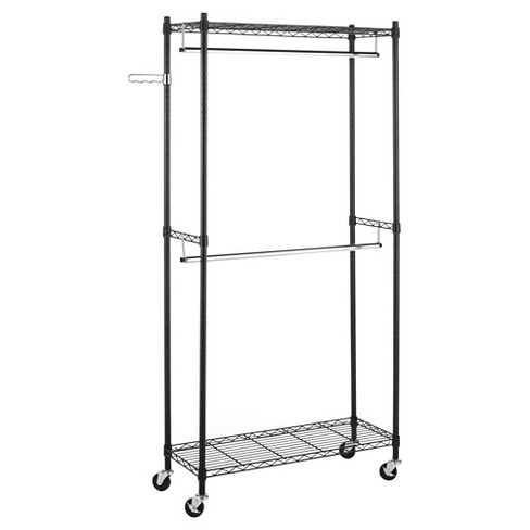 Whitmor Supreme Double Rod Garment Rack - image 1 of 1