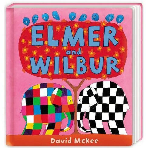 Elmer and Wilbur - by  David McKee (Board_book) - image 1 of 1