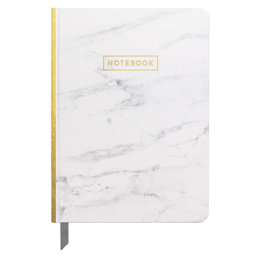 Lined Journal 5 X 7 25 Marble With Gold Foil Designworks Ink