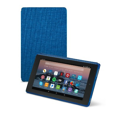 Amazon Fire 7 Tablet Case (7th Generation, 2017 Release)- Marine Blue