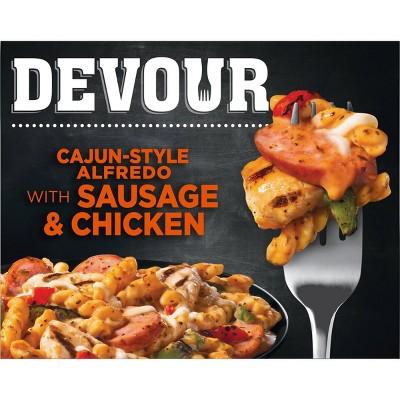 Devour Frozen Cajun Style Alfredo with Sausage and Chicken - 10oz