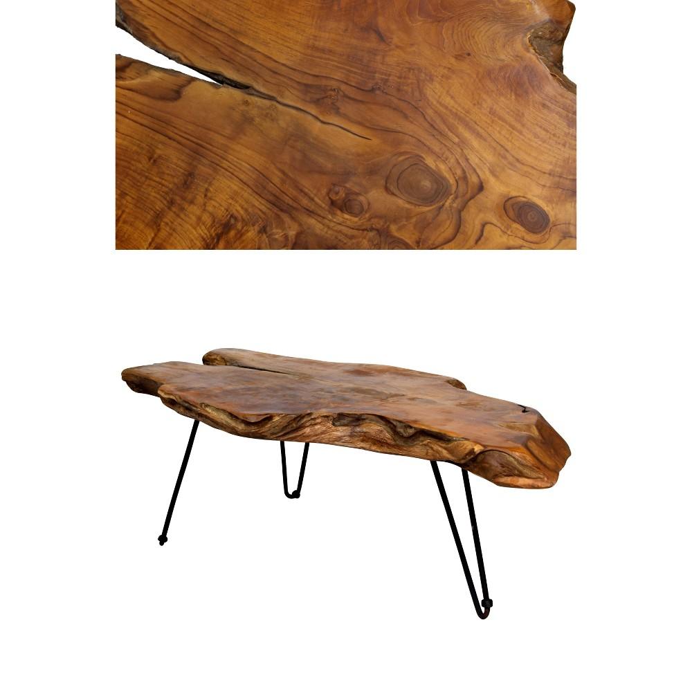 Natural Teak Coffee Table Stylecraft