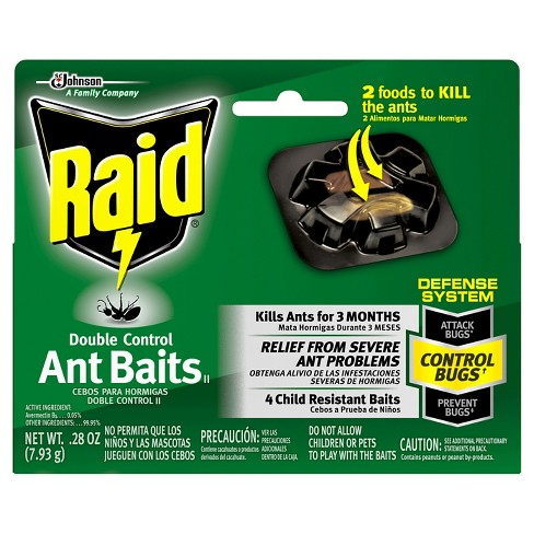 Raid Max Double Control Ant Baits 4ct - image 1 of 2